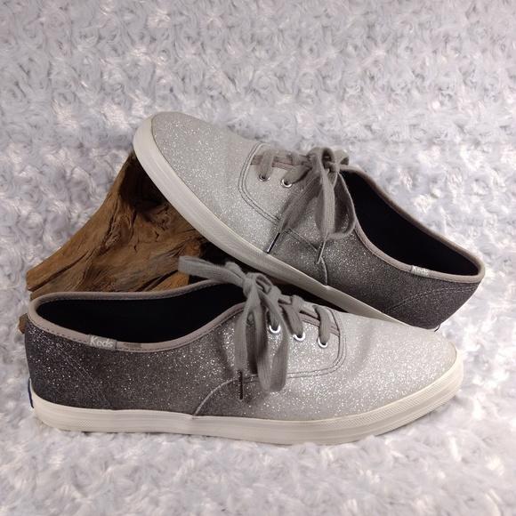 f3cdbe0453111 Keds Shoes - ✨Keds champion sparkle fashion sneakers gray sz 10